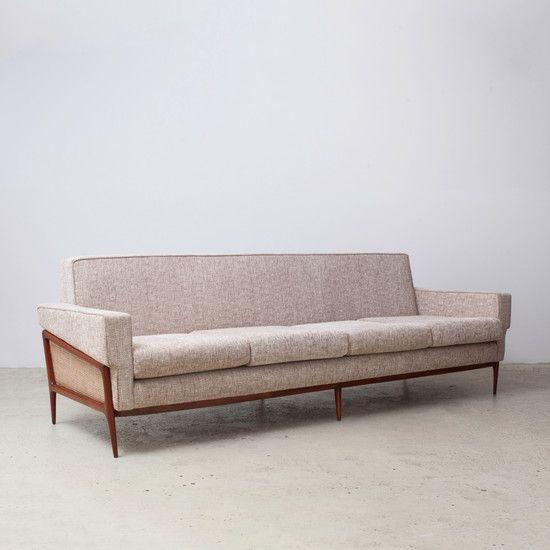 Vintage 1960s Sofa By Giuseppe Scapinelli | ESPASSO