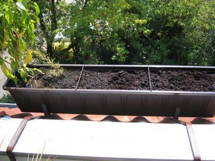 Berühmt Blumenkasten-Halter für Dachloggia und Dachschräge - Vorschau 3 @XN_45