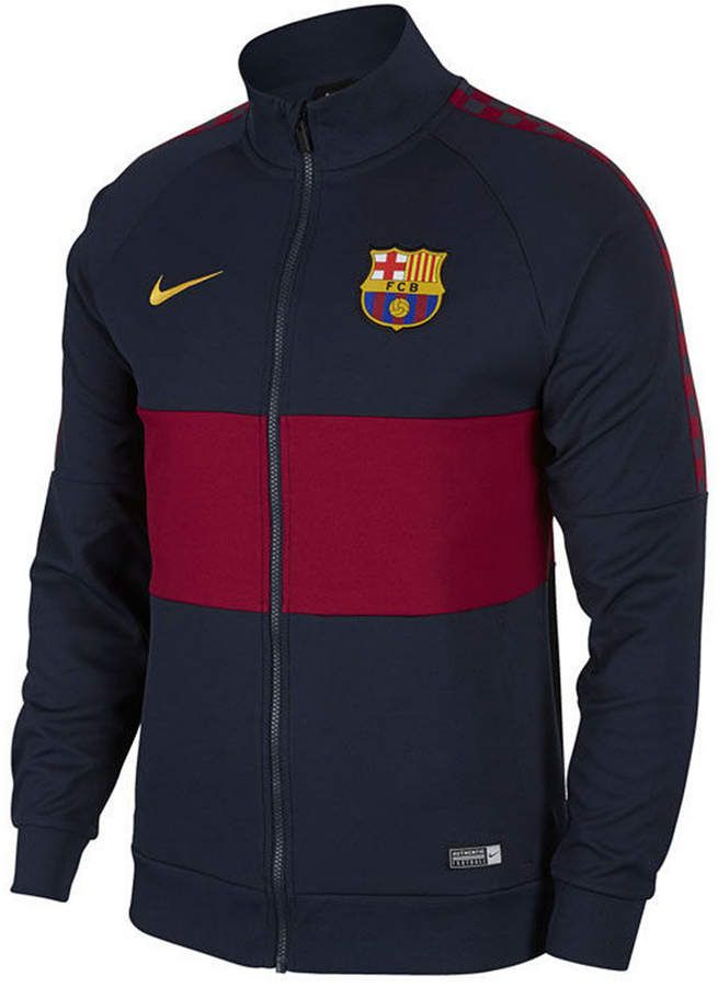 Nike Men's FC Barcelona Club Team I96 Jacket & Reviews - Sports Fan Shop By Lids - Men - Macy's #sportclothes