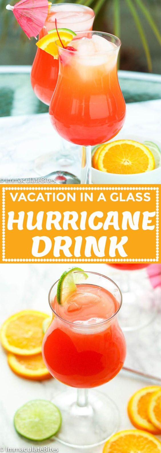 Hurricane Drink Recipe – Immaculate Bites