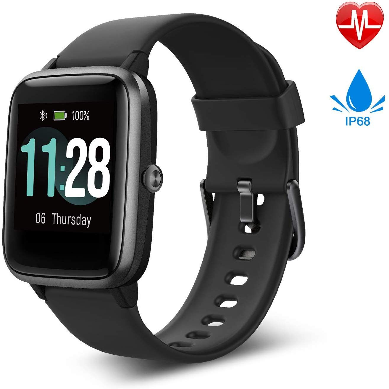 Fitpolo Smartwatch Fitness Armband Touchscreen Wasserdicht Schrittzahler Uhr Mit Gps Pulsmesser Smartwatch Fitness Uhr Fitness Armband