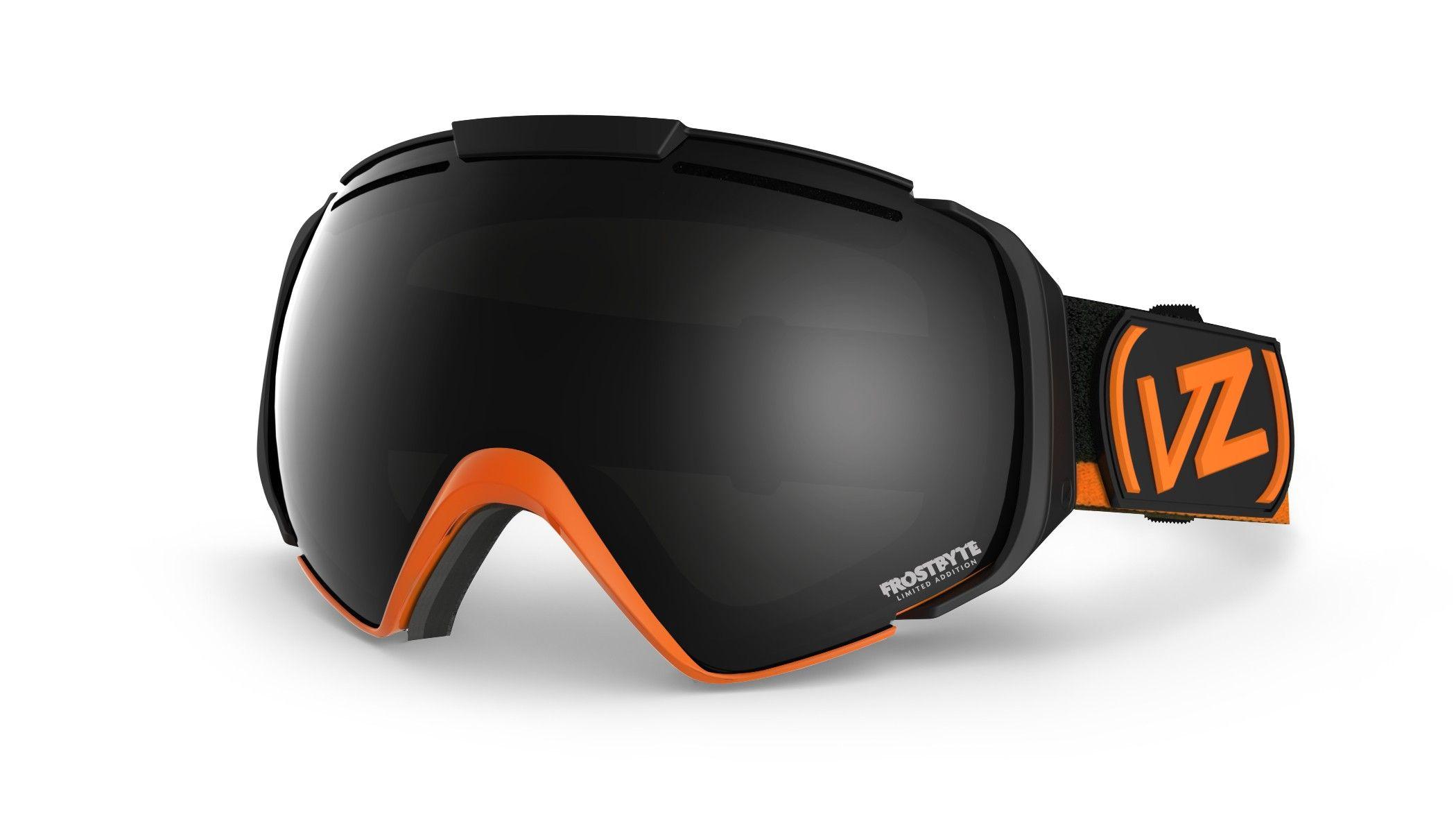 ski goggles black  Von Zipper El Kabong Ski Goggles - Frostbyte Tangerine / Black ...