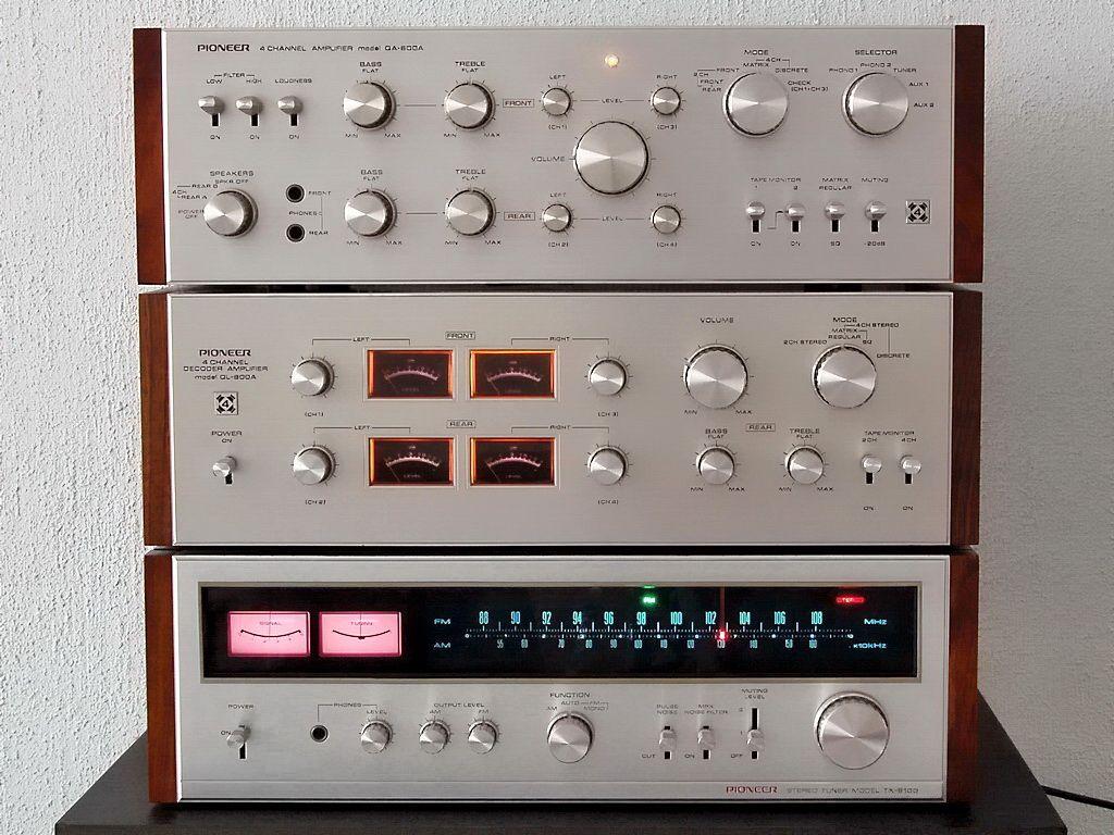 Beautiful - Pioneer QA-800A QL-600A TX-9100 Vintage Audio Love