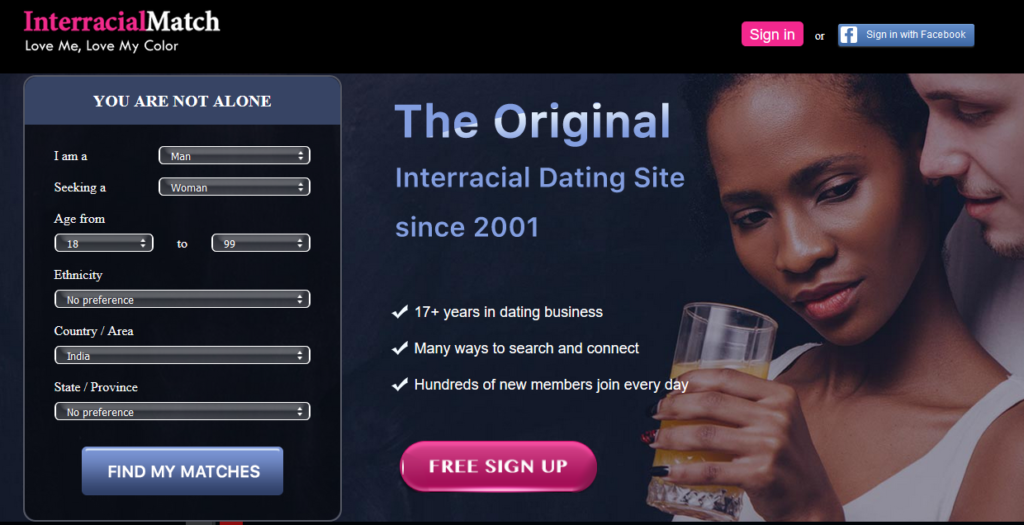 The Best 10 Online Interracial Dating Sites By Popularity