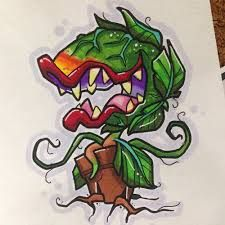 Image result for audrey 2 tattoo