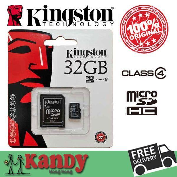 Kingston Micro Sd Card Memory Card 4gb 8gb 16gb 32gb Class 4