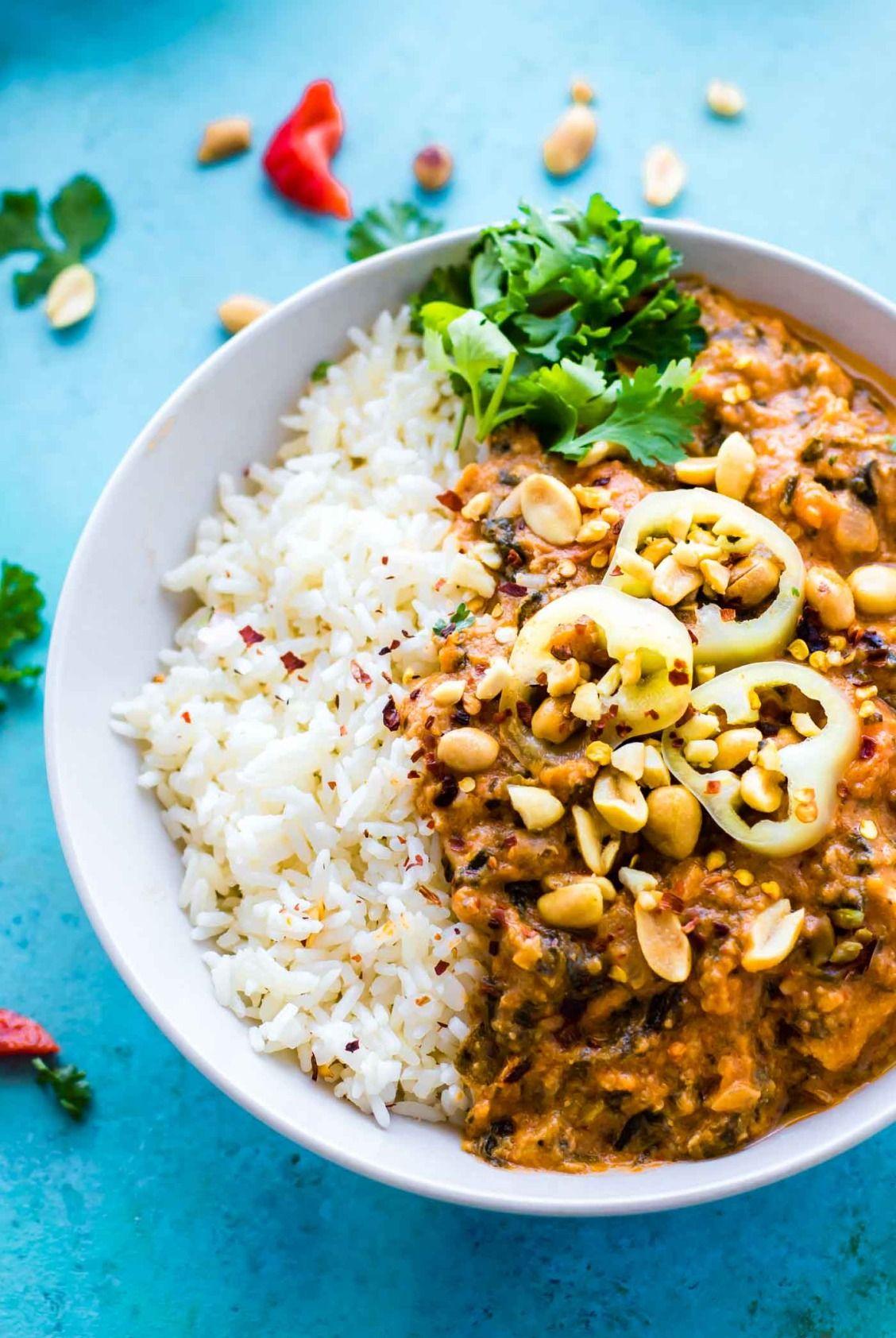 Fiery west african peanut stew crockpot stew recipe