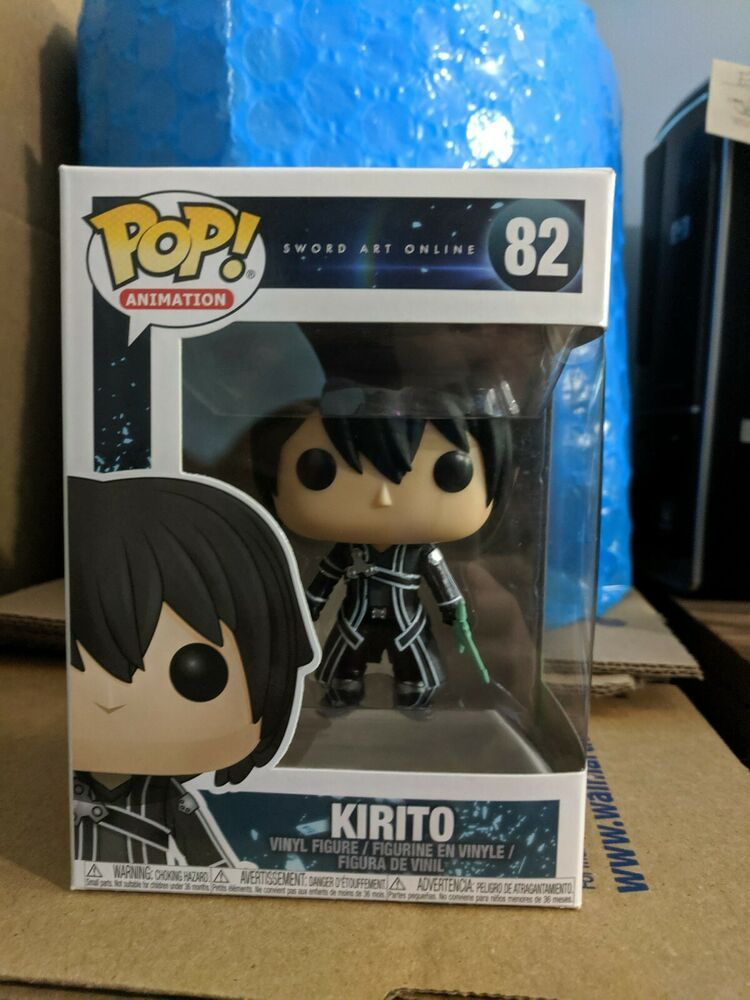 Funko Pop Kirito Sao Sword Art Online Vaulted Retired Afflink Contains Affiliate Links When You Click On Links To Vario With Images Sword Art Online Sword Art Kirito Sao