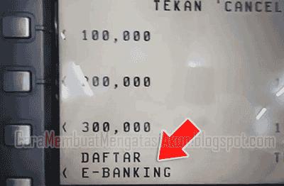 Cara Daftar Mobile Banking Bca M Banking Bca Di Mesin Atm
