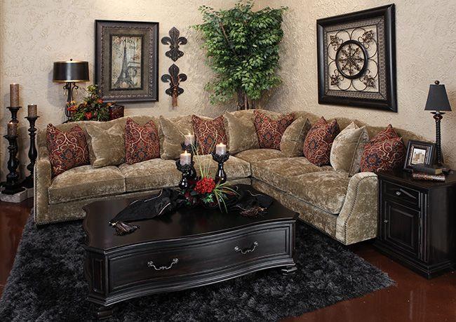Hemispheres a world of fine furnishings tuscan decor i - Tuscan inspired living room furniture ...
