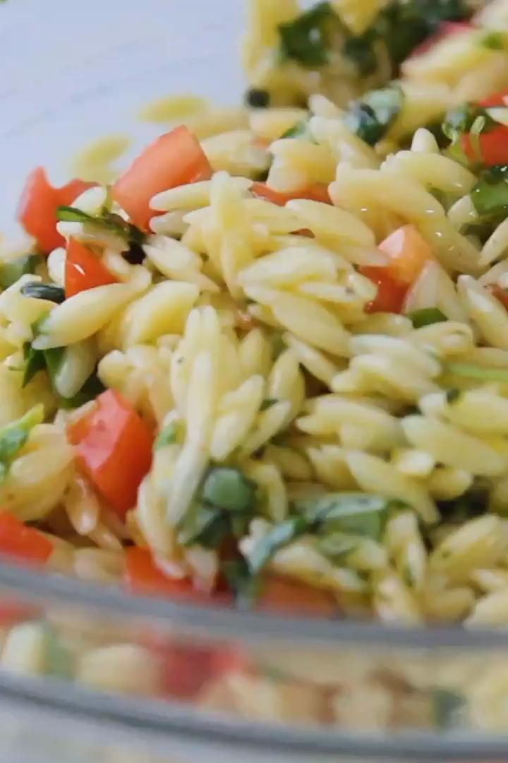Easy Lemon Orzo Pasta Salad Easy Lemon Orzo Pasta Salad Life As A Strawberry - Food & Recipes lifea
