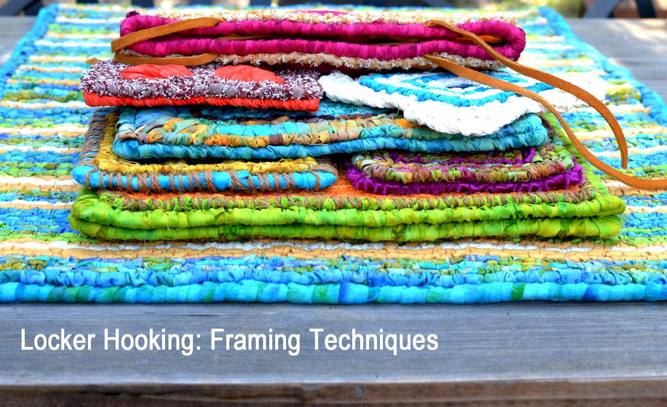 How To Make Hooked Rug Coasters