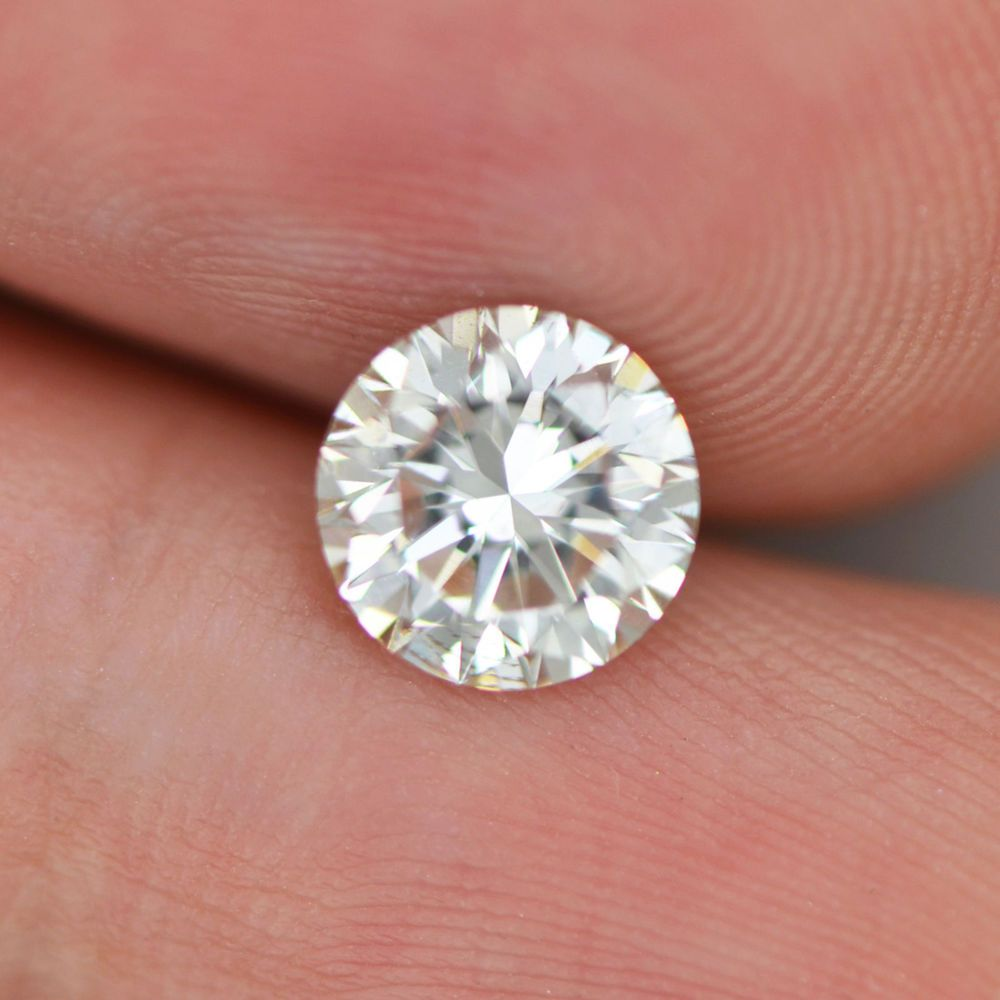 1.32 Carat H VS2 Round Enhanced Certified Natural Diamond For ...
