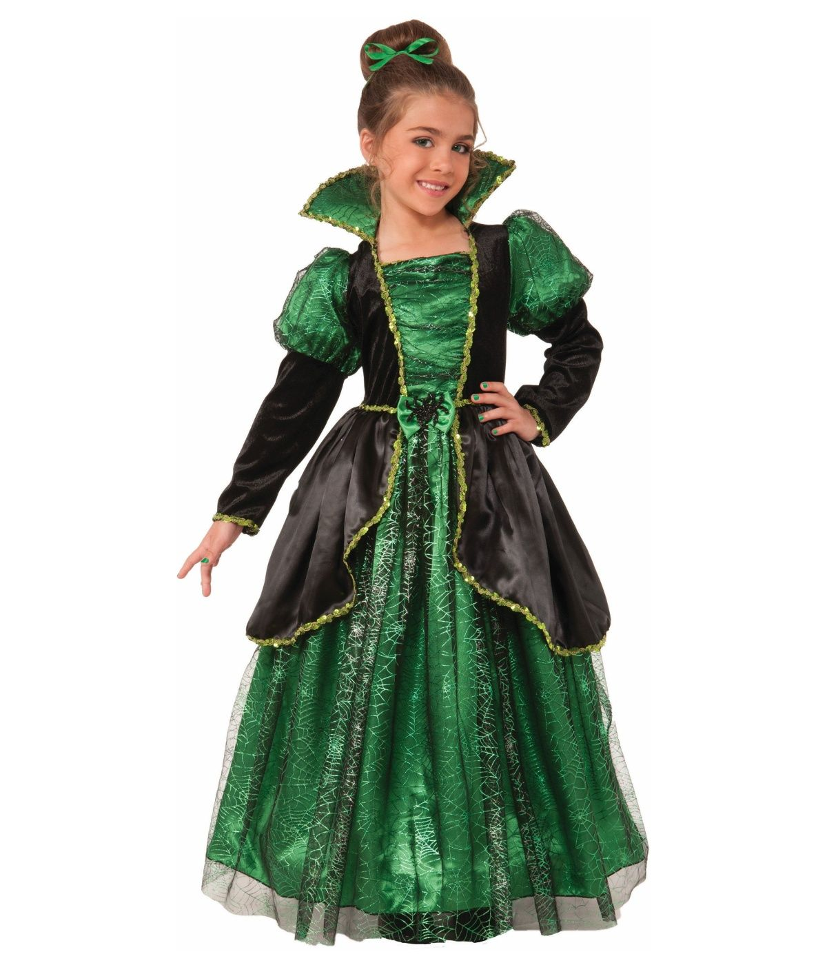Explore Witch Outfit Witch Dress and more!  sc 1 st  Pinterest & reverse black and green. Yes collar. No criss cross | Costumes ...