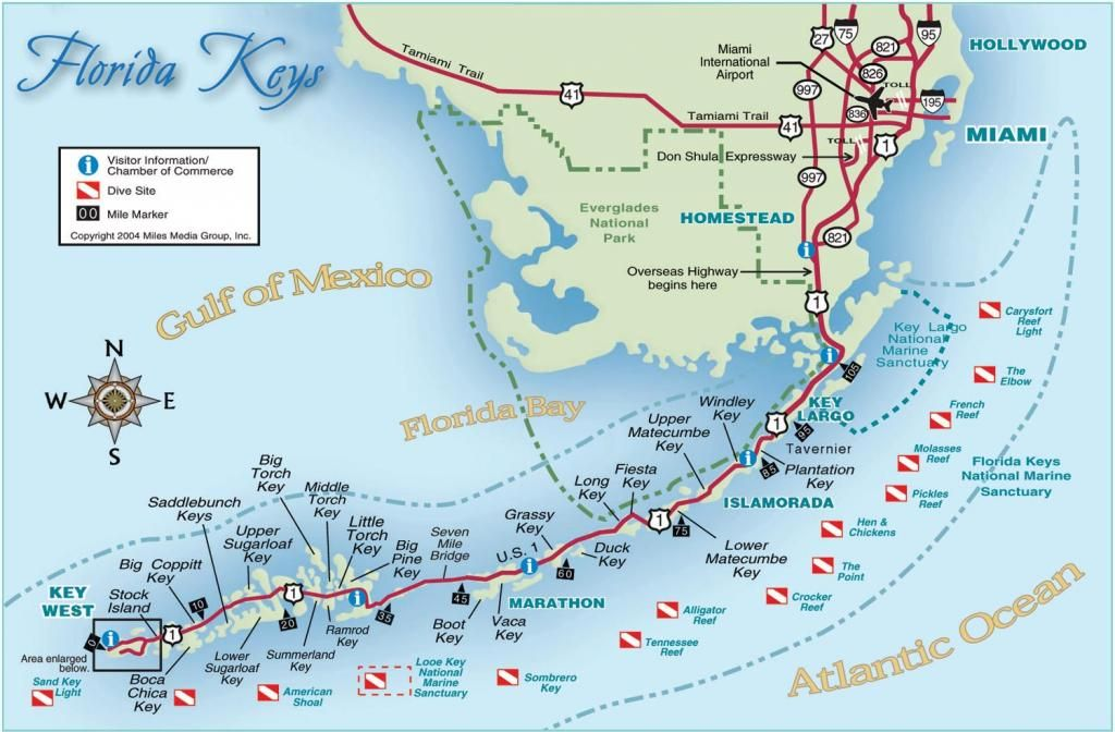 Map Of Florida Keys.Key West Dive Sites Scuba Diving Florida Keys Florida Key West