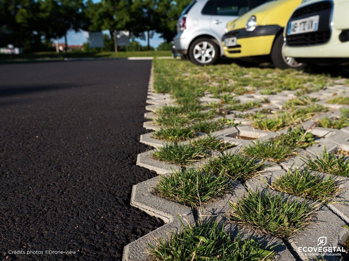 Dalle Beton Parking Herbe parkings perméables et drainants | extérieur, parking, gazon