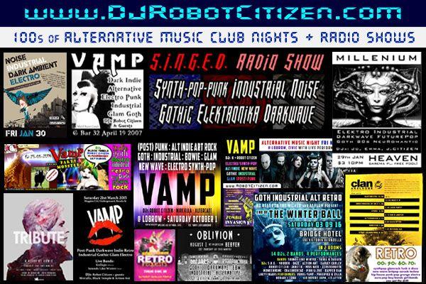 Australian Gothic Industrial Darkwave Ebm New Wave Synthpop Music