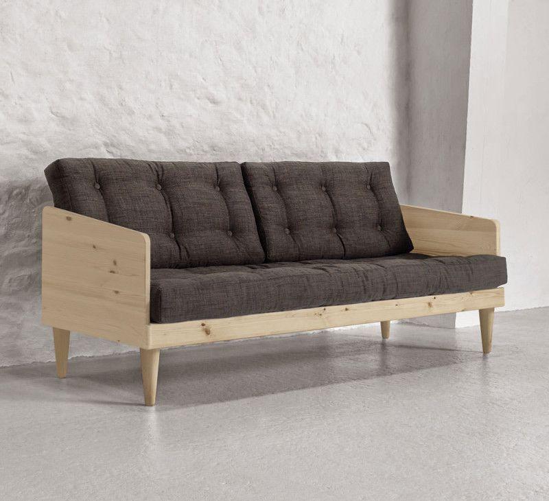 sofa pop mit holzrahmen muebles sofa polster sofas. Black Bedroom Furniture Sets. Home Design Ideas