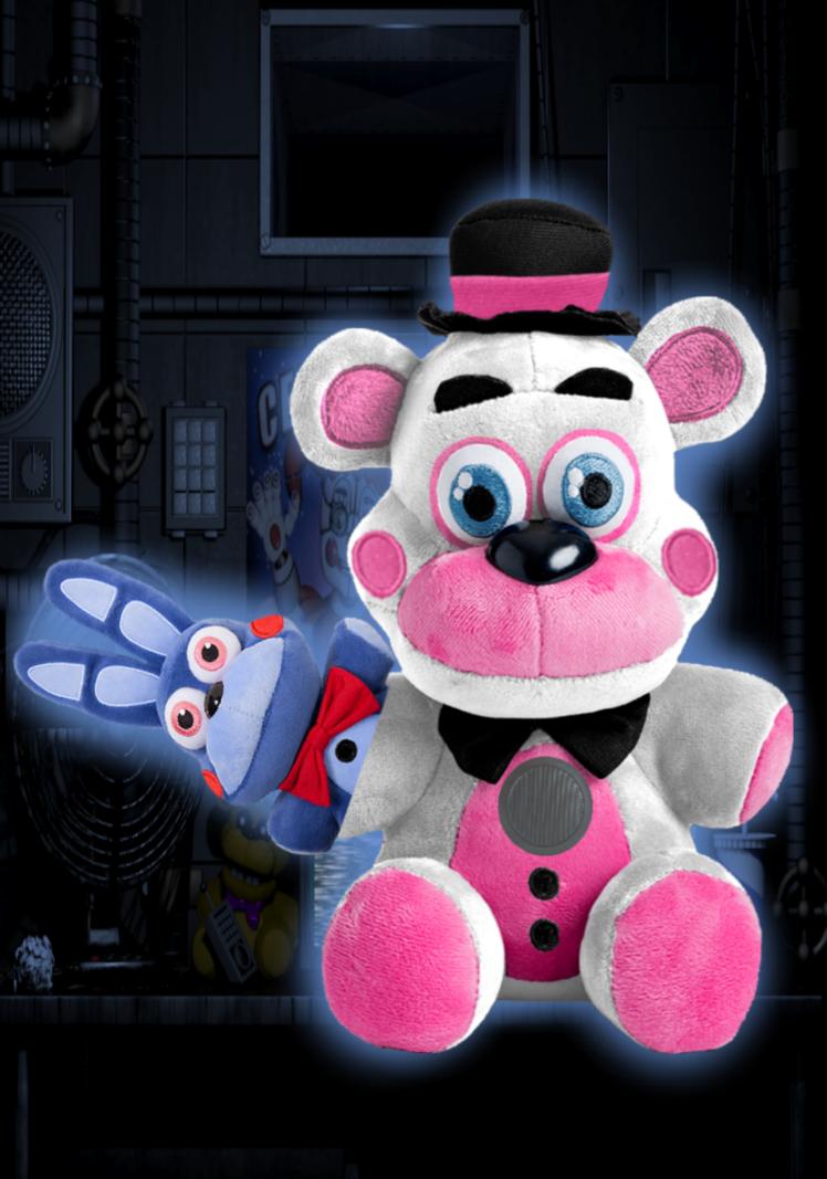 Sanshee Funtime Freddy Plush Bon Bon By Freddyfazbear225 In 2021 Freddy Plush Freddy Fnaf