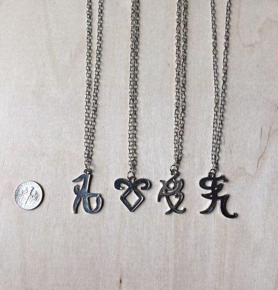 shadowhunter rune necklace angelic power iratze love