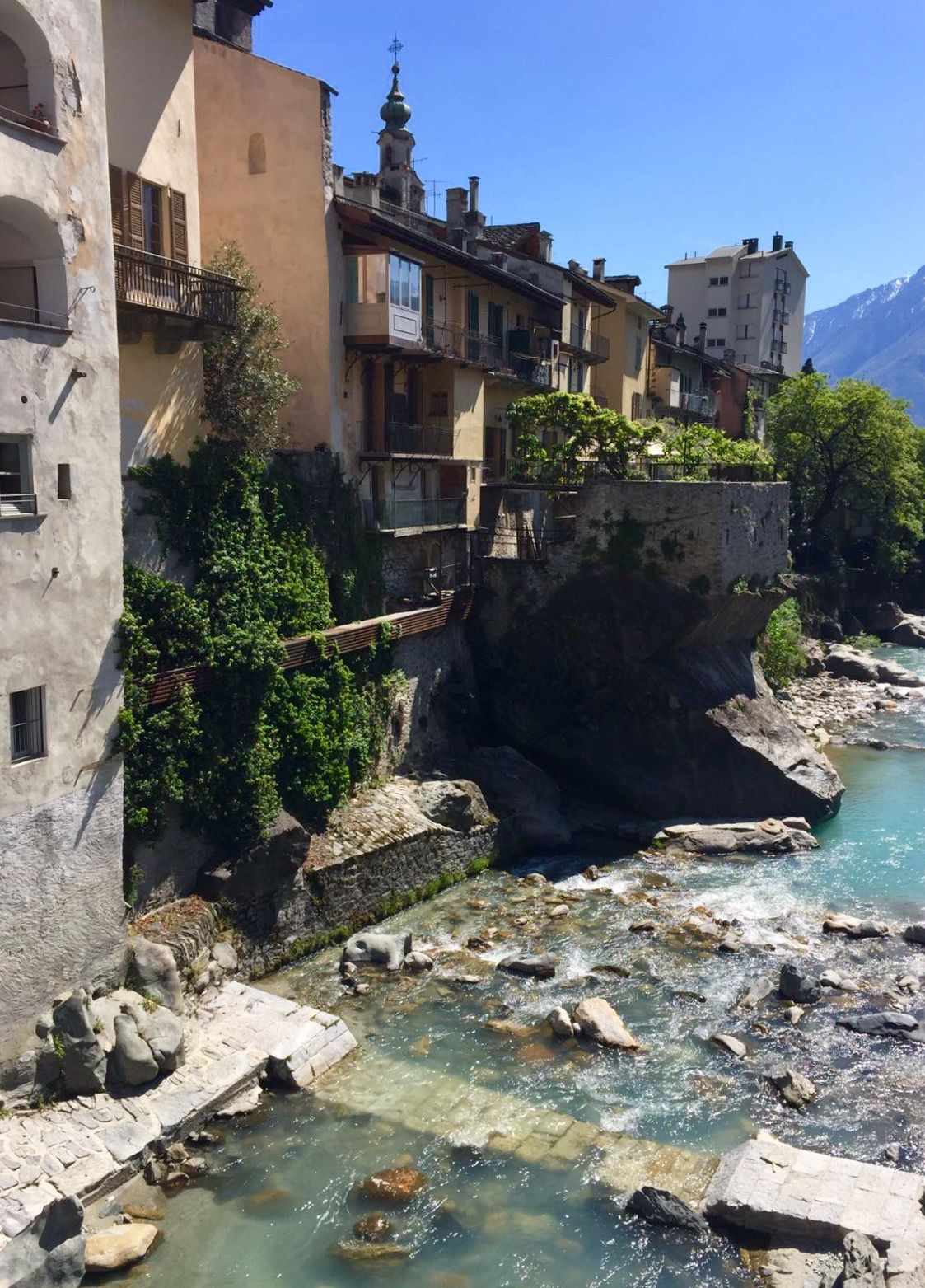 Chiavenna/Italy | Nature travel, House styles, Travel