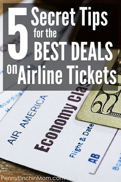 Find out the secrets to getting the best deals on airline tickets.  Find out the right time to shop and other insider tricks to cheap airfare.  #airfaredeals #travel #discounts #savingmoney #savemoney #budget #budgeting #PPM