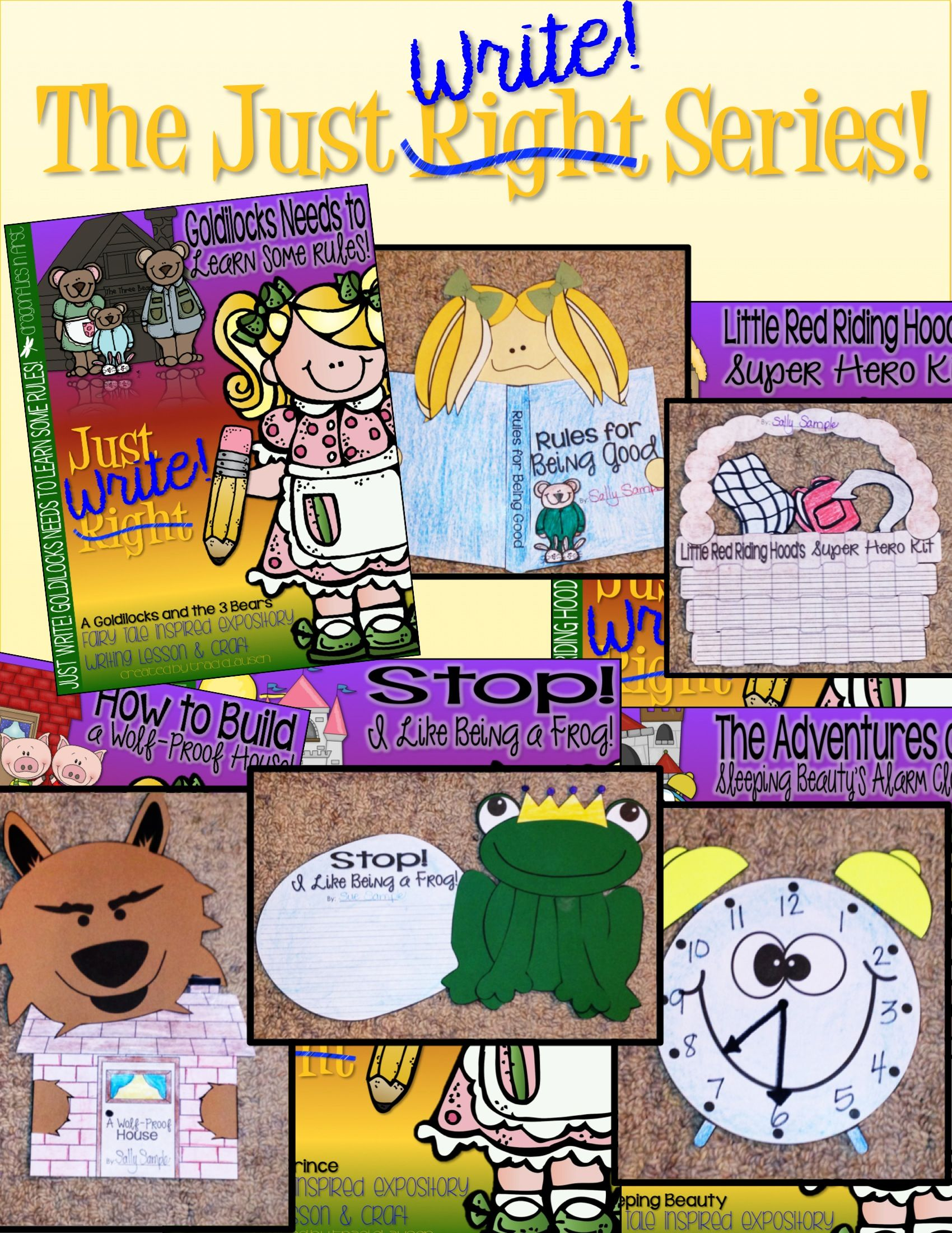 writing lesson expository fairy tales goldilocks needs to learn some rules kinderland. Black Bedroom Furniture Sets. Home Design Ideas
