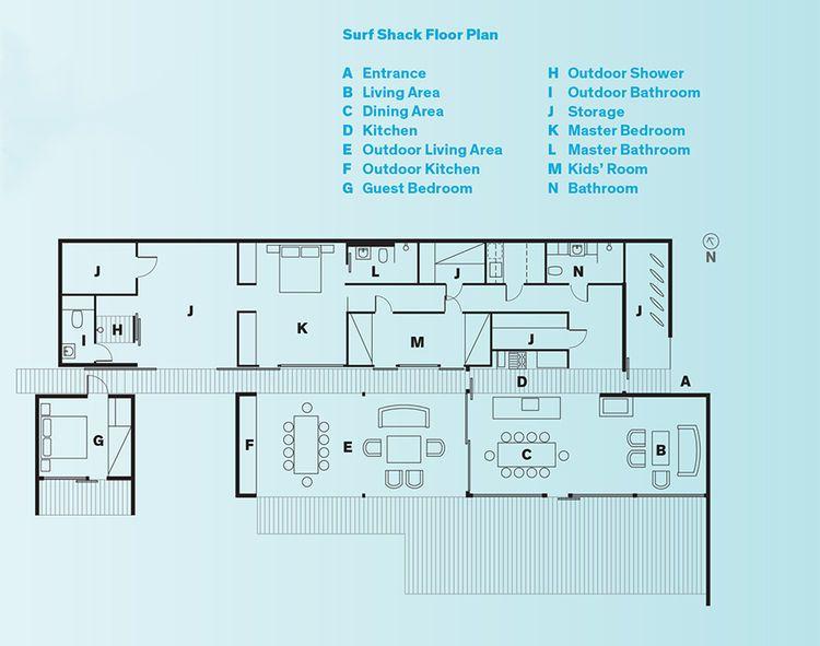 Modern Swedish Family Dream Getaway Floor Plans