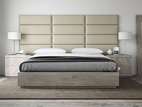 Vant Upholstered Headboards Accent Wall Panels Packs Of 4 Vitage Leather Dusty Taupe 39 Wid Upholstered Walls Upholstered Headboard Upholstered Wall Panels
