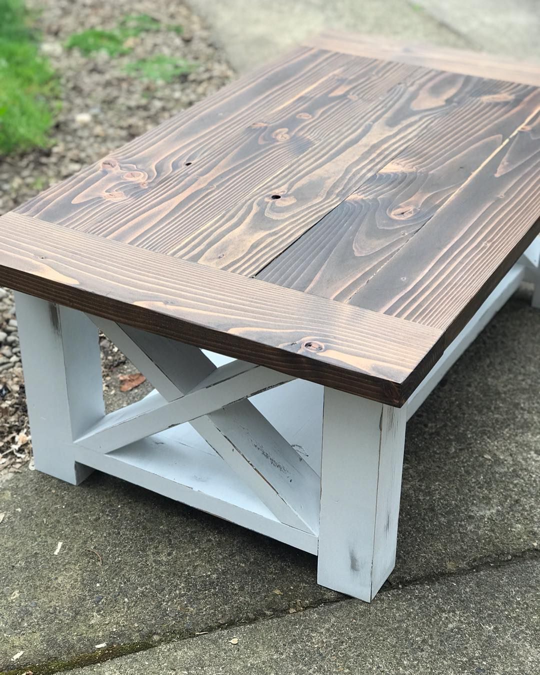Chunky Leg Coffee Table Headed Out This Week In 2020 Coffee Table Rustic Dining Table Table [ 1350 x 1080 Pixel ]