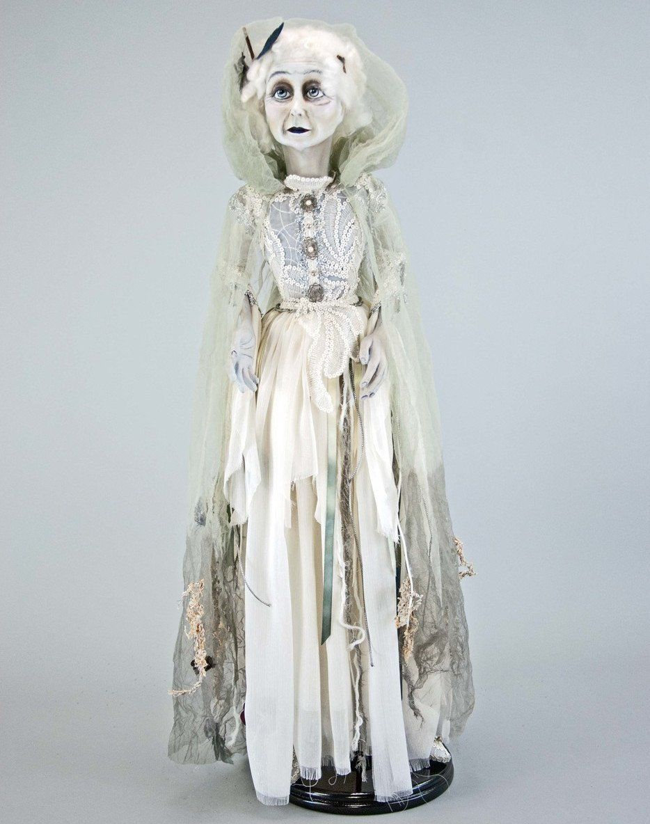 Lady in Mourning Ghost Bride - 34 #bridedolls