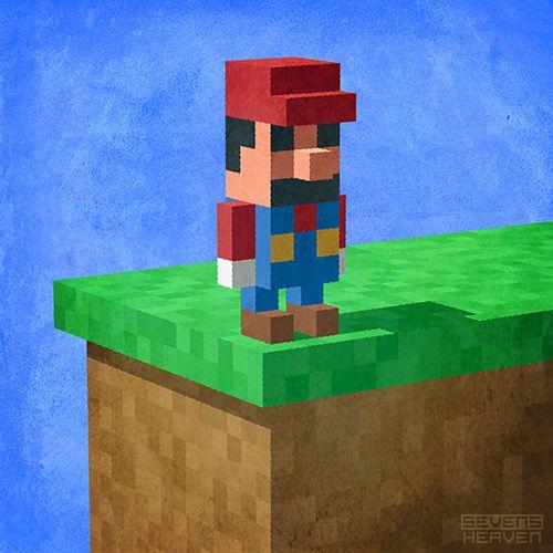 Super Mario Bros Re Imagined In 100 Images Mario Art Mario Fan