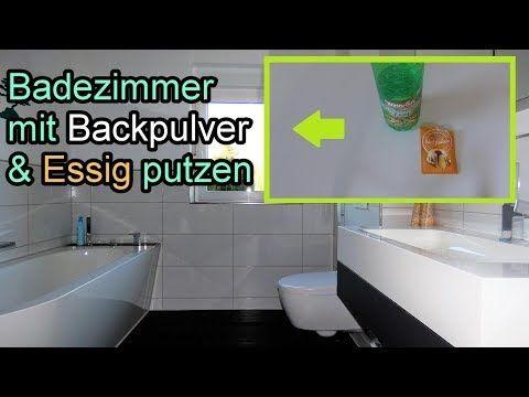 Badezimmer mit Backpulver & Essig mühelos reinigen Bad
