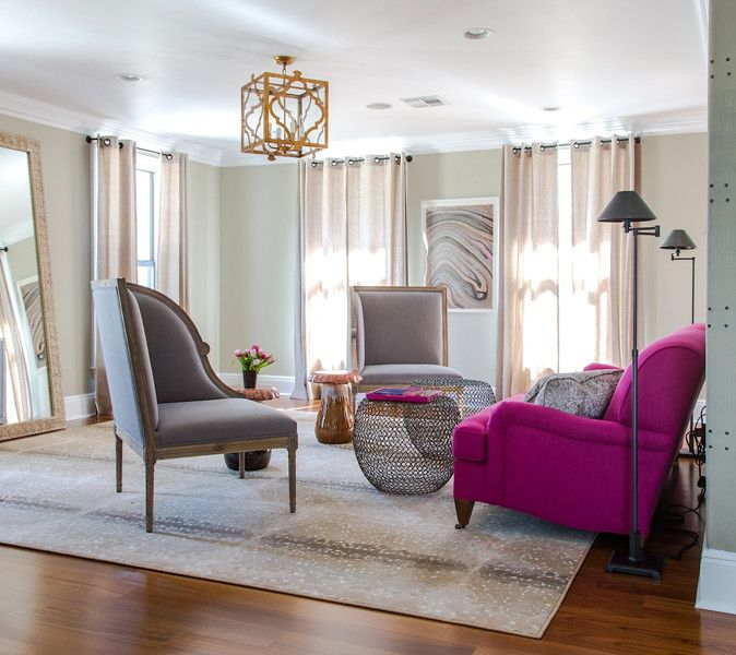 Grey And Fuschia Living Room Great Pink Sofa Design