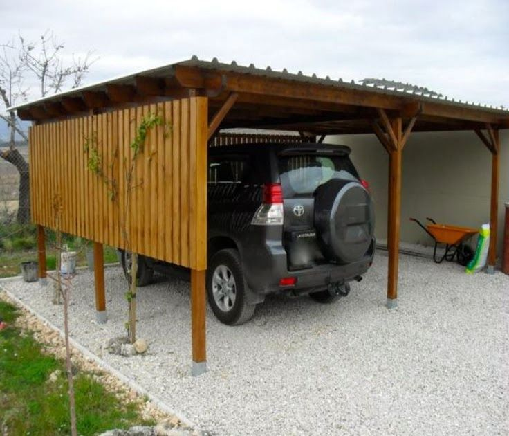 Pergola Double Car Port carport attached to houseGone are