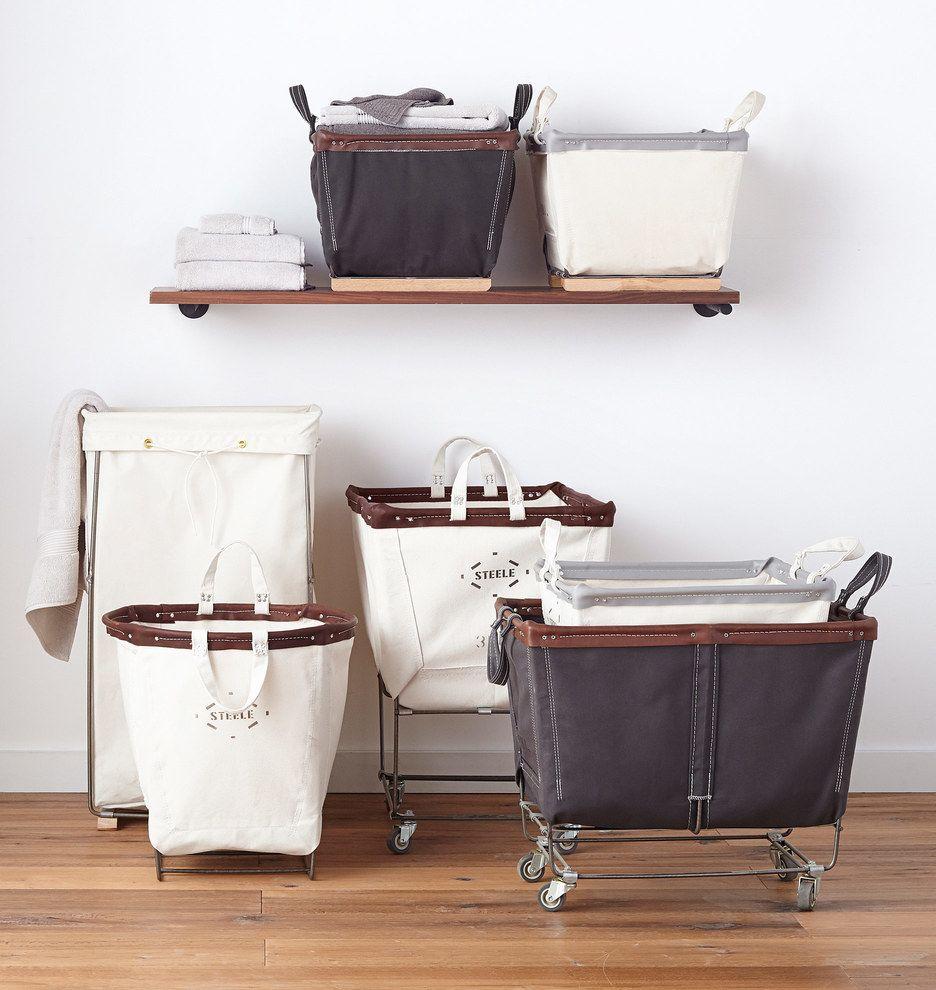 Steele Canvas 3 Bushel Laundry Bin In 2020 Laundry Bin Laundry