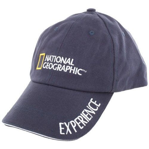 One size fits most - National Geographic embroidered logo - Single word  expressions embroidered on hard bill - Hook and loop closure in the back  for loosen ... daf5b9720d9