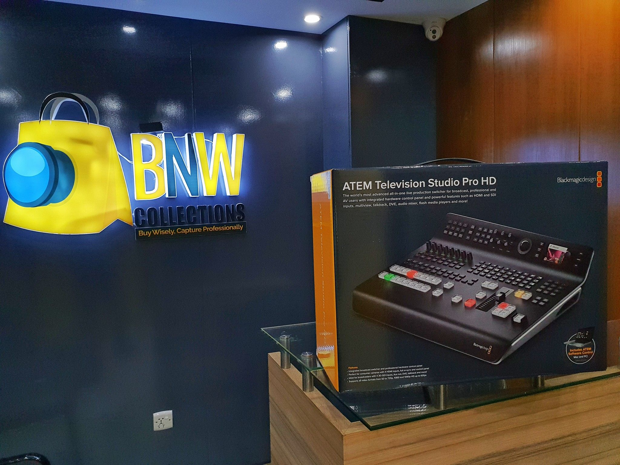 Blackmagic Design Atem Television Studio Pro Hd Live Production Switcher Highlights 8 Channel Sdi H Blackmagic Design Cameras And Accessories Photography Store