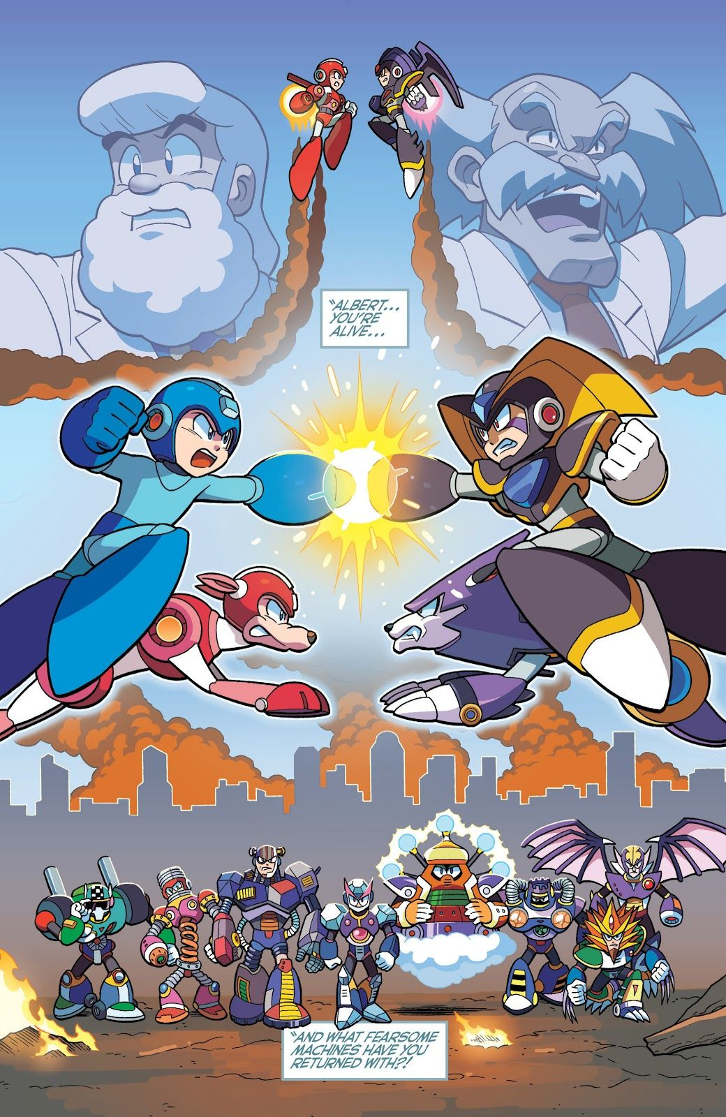 Mega Man Issue #55 - Read Mega Man Issue #55 comic online in