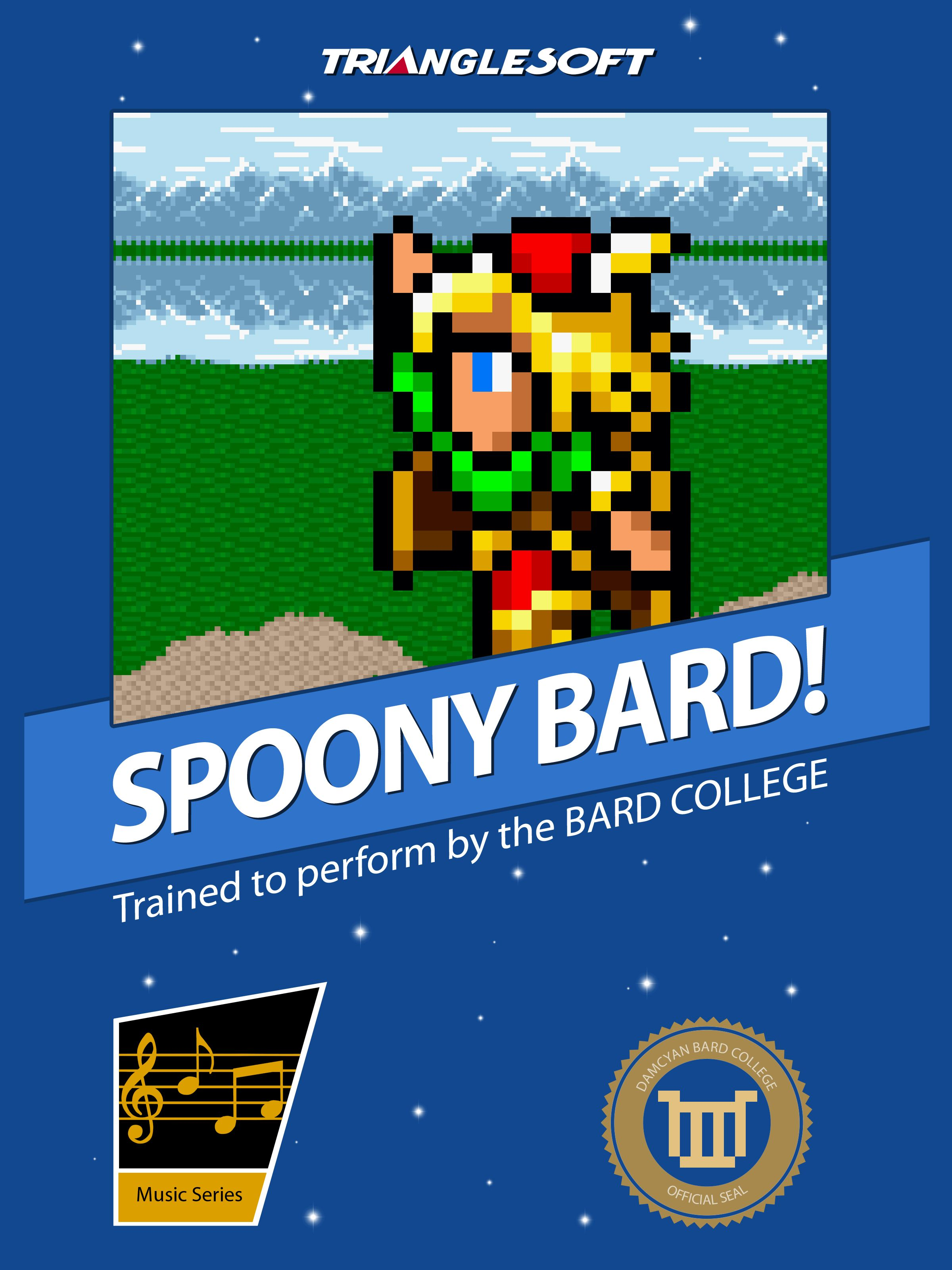 Spoony Bard Final Fantasy T Shirt By Thehookshot Final Fantasy