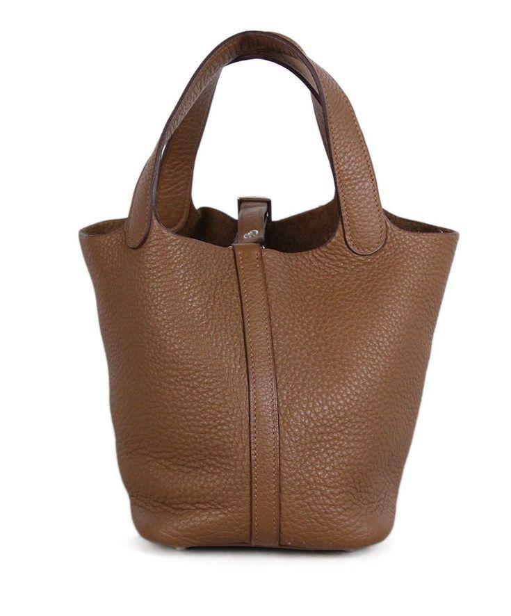 fb22ce231dd9 Hermes Picotin Neutral Tan Leather Handbag - Hermes Picotin Bag -  Fashionable and trending Hermes Picotin