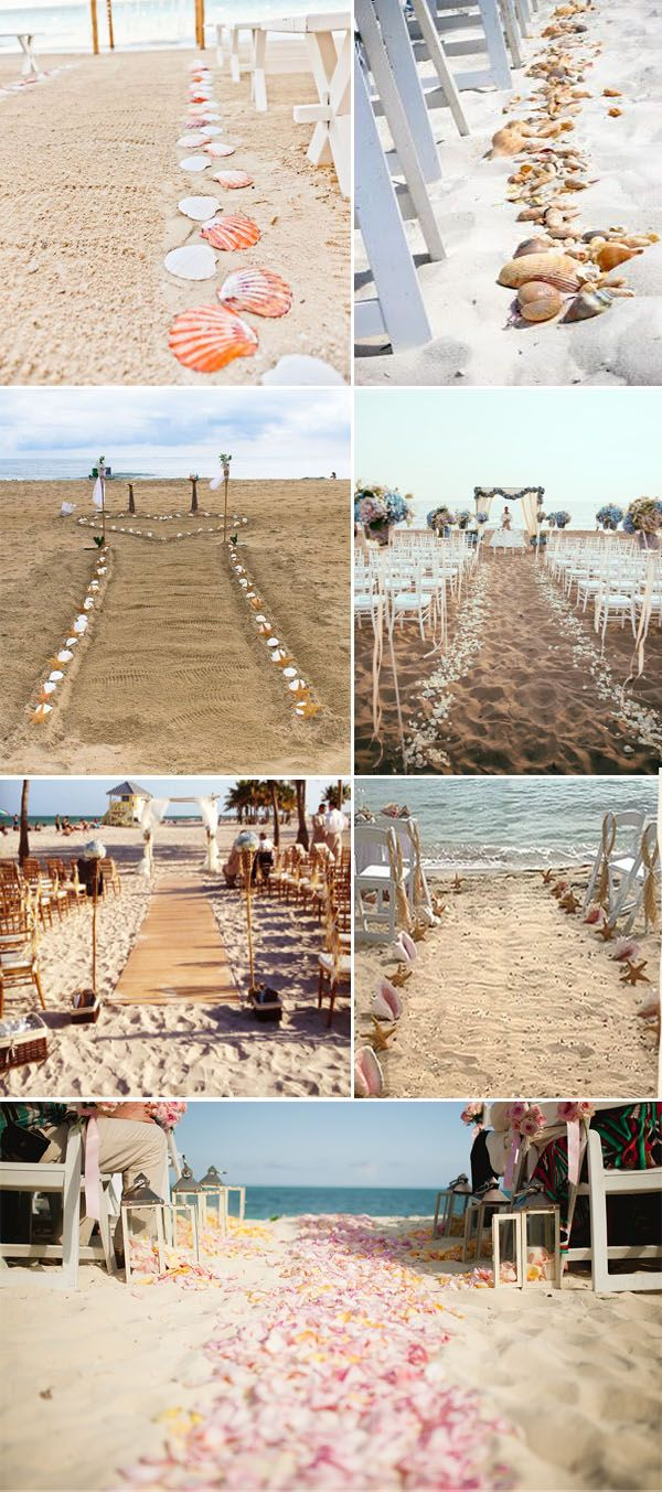 Beach wedding decorations elegant   Most Popular MustSee Wedding Aisle Runner Decoration Ideas