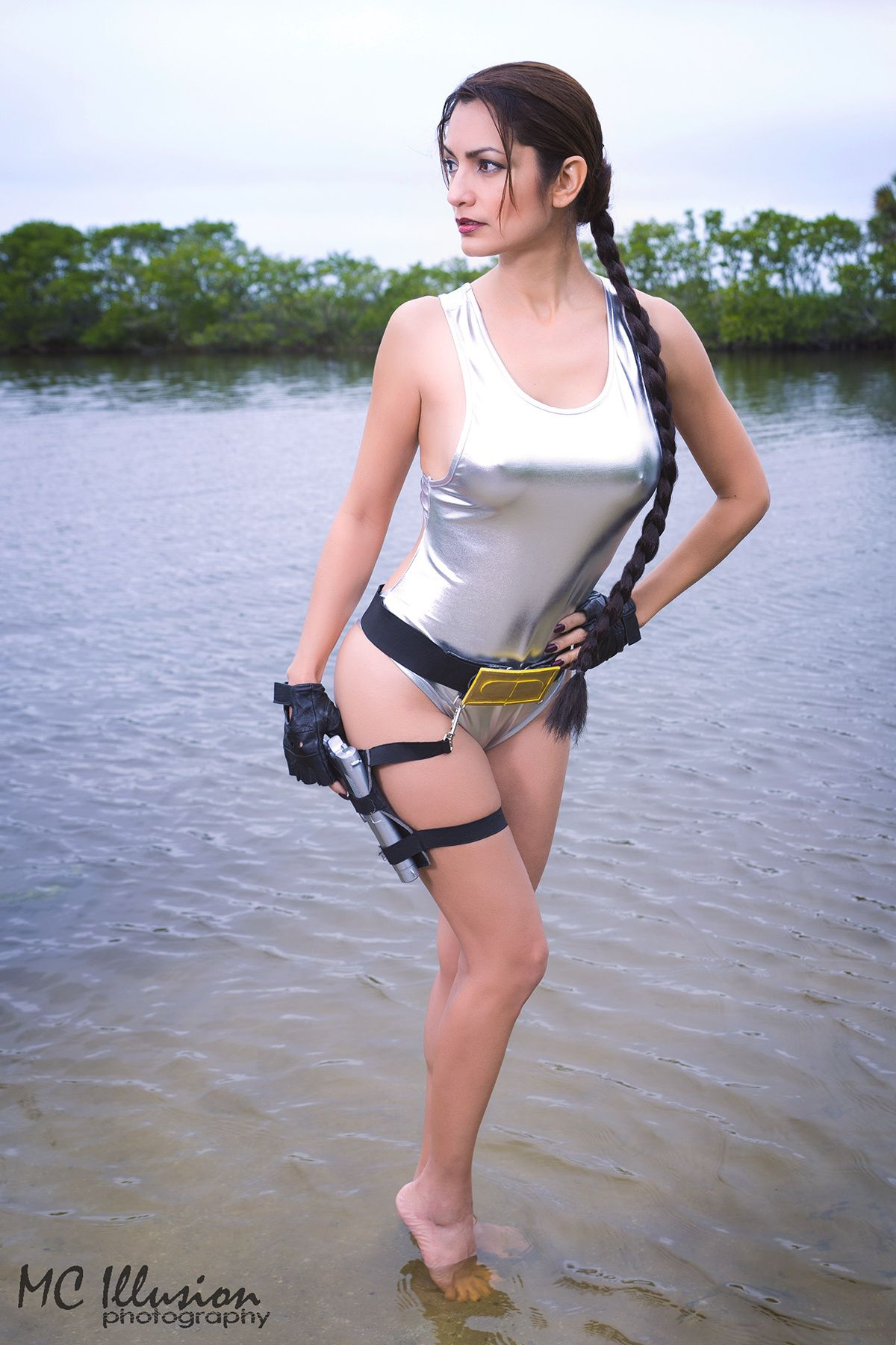 lara croft grey swimsuit lara croft grey swimsuit from