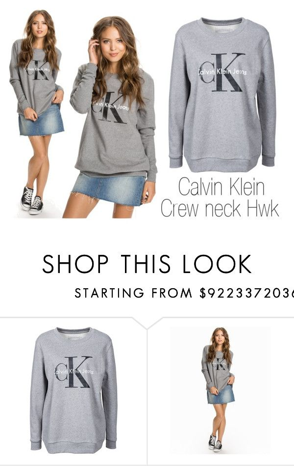 """Calvin Sweater"" by isabelle96-1 on Polyvore featuring women's clothing, women, female, woman, misses and juniors"
