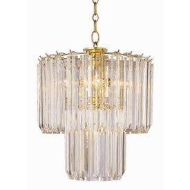 Trans Globe Lighting 9646 Five Light 2 Tier Acrylic Chandelier