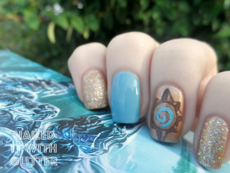 Hearthstone Nail Art | Geeky Glamour | Pinterest | Nail stuff and ...