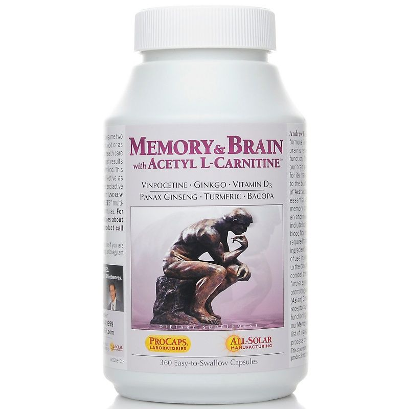 Memory and Brain with Acetyl LCarnitine Review (UPDATE
