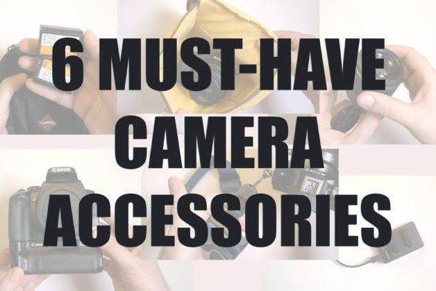 Six must-have camera accessories if you're just starting ...
