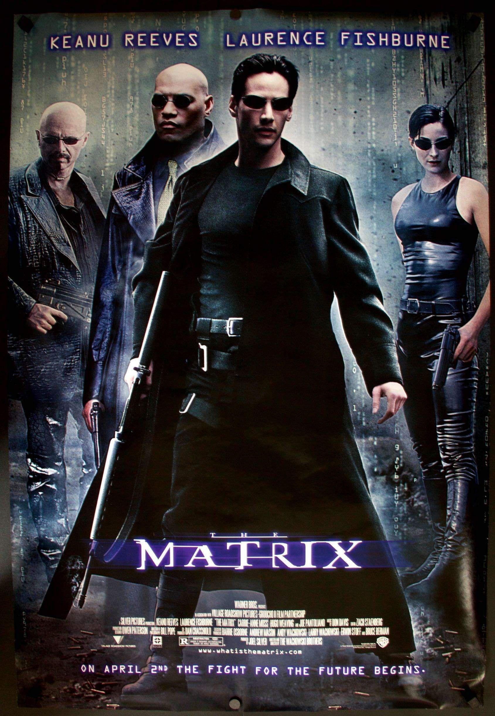 The Matrix The matrix movie, Matrix film, Best movie posters