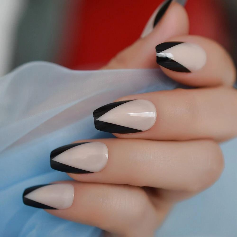 Pin on french nail tip